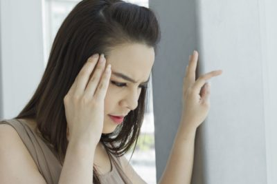 Illustration of The Cause Is Often Dizziness Accompanied By Shortness Of Breath And Soles Of The Feet And Hands Cramping, Sweating?