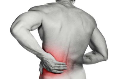 Illustration of Causes Of Left Back Pain When Pressed
