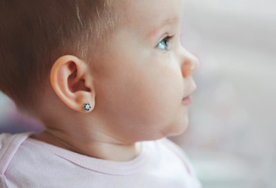 Illustration of Overcoming Pus In The Ear Piercings Of Babies Aged 5 Months?