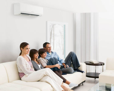 Illustration of Study Says Air Conditioner May Play a Role in Spreading the Corona Virus.