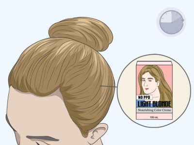 Illustration of Scalp Blistering And Itching After Using Hair Coloring?