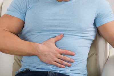 Illustration of Overcoming Upper Abdominal Pain Accompanied By Difficult Bowel Movements And Shortness Of Breath?