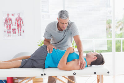 Illustration of Overcoming Disorders Of The Spine Only With Physiotherapy?