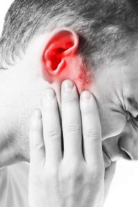 Illustration of Sore Throat When Swallowing Down To The Ears And Head After Drinking Water Mixed With Perfume?