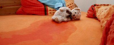 Illustration of The Child Wet The Bed After Doing Strenuous Exercise?