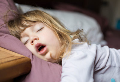 Illustration of Cough Colds In Children Aged 16 Months And Sleep Snoring?