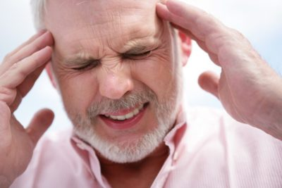 Illustration of Headache Can Not Wake Up But Normal Blood Pressure?