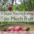 The Cause Is Always Vomiting When Eating Fruit?