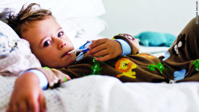 Illustration of Fever In Children Only At Night Accompanied By Coughing And Colds?