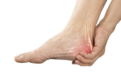 Illustration of Pain And Tingling In The Heel Of The Foot Due To The Use Of Shoes With Thin Pads?