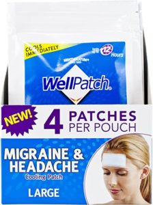 Illustration of The Use Of A Patch When You Have A Headache?