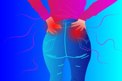 Illustration of Pain Aching In The Buttocks To The Back Of The Thigh?
