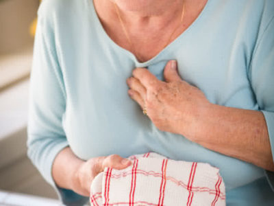 Illustration of The Cause Of The Disappearance Of Symptoms Of Chest Pain Despite Quitting Smoking?