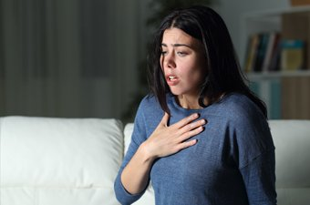 Illustration of Shortness Of Breath When You Feel Anxiety?