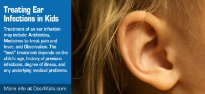 Illustration of Medication To Treat Ear Infections In Infants?