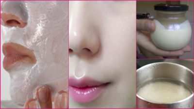 Illustration of Can Rice Masks With Milk Whiten The Skin?