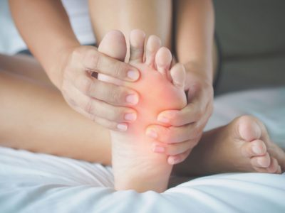 Illustration of Feet That Feels Painful And Swollen?