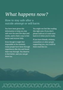 Illustration of Handling When There Is A Feeling Of Suicide?