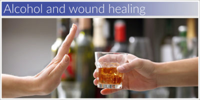 Illustration of Can Cigarettes And Alcoholic Beverages Affect The Healing Of Suture Wounds?