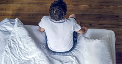 Illustration of Bedwetting But When You're Not Sleeping?