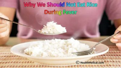 Illustration of The Body Feels A Fever When Eating Rice After Recovering From Typhus?