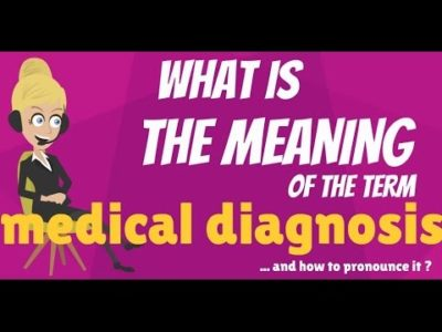Illustration of What Does That Mean OF Diagnosis?