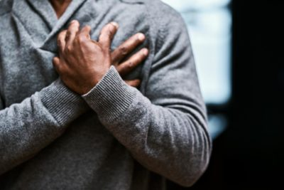 Illustration of How To Relieve Left Chest Pain?