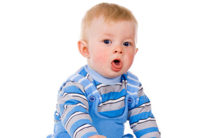 Illustration of Children 8 Months Coughing Hot Colds What Is The Cure?