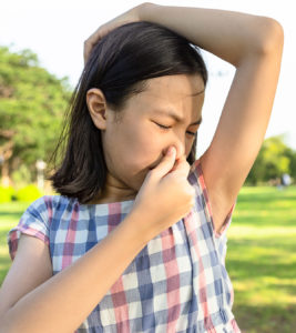 Illustration of How To Deal With Body Odor In Children Aged 8 Years?