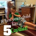4 Year Olds Don't Want To Eat Because Of Cavities?