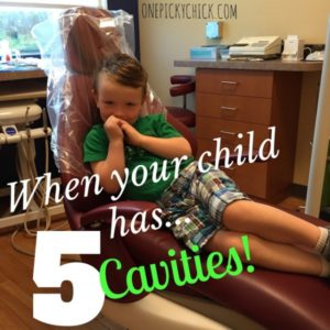 Illustration of 4 Year Olds Don't Want To Eat Because Of Cavities?