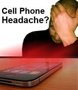 Illustration of Headache If Playing Handphone Or Watching Television For Too Long?