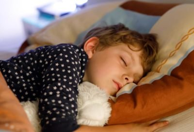 Illustration of 8-year-old Children Always Feel Hot To Sweat While Sleeping?
