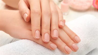 Illustration of There Are Reddish Spots On The Curved Nails?