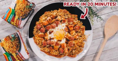 Illustration of Can I Eat Pizza With Instant Noodles?