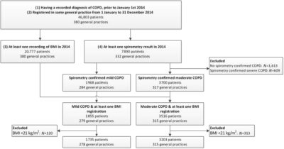 Illustration of Body Weight Remains Stable In People With COPD?