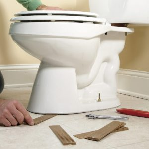 Illustration of Handling After Falling Sit On The Toilet?