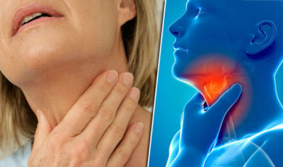 Illustration of Sore Throat When Swallowing Feels Sore And Prop?