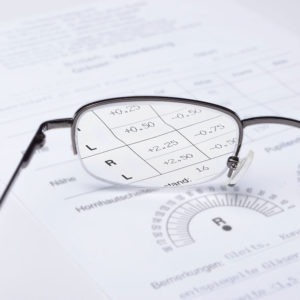 Illustration of How To Check Glasses Containing Minus Or Normal?