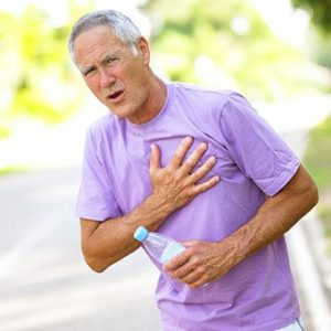 Illustration of Causes Of Front And Back Chest Pain Accompanied By Shortness Of Breath?