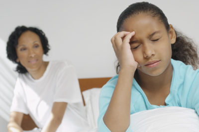 Illustration of Frequent Headaches Accompanied By Nausea, Vomiting And Fever Since Childhood?