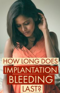 Illustration of The Cause Of Spotting For 10 Days Is Blood Implantation?