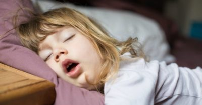 Illustration of 7 Year Olds Breathe By Mouth While Sleeping?