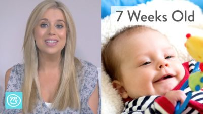 Illustration of Growth And Development Of Infants Aged 7 Weeks?