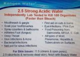 Use Of Water With A PH Of 2.5 For The Eyes?