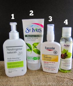 Illustration of Products That Are Safe For Acne Prone Skin?