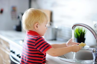 Illustration of How To Handle Children Who Accidentally Drink Soapy Water?