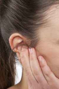 Illustration of Cause There Are Small Bumps In The Ear And Cheek Area?