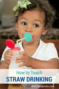 Illustration of A 4-month Baby Learns To Drink Using The Easy Sip Spout Cup?