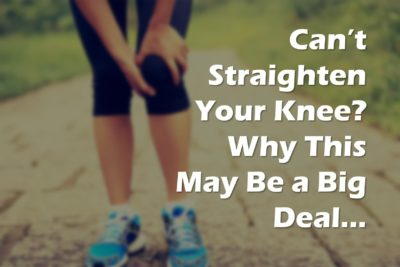 Illustration of The Cause Of The Knee Cannot Be Straightened?